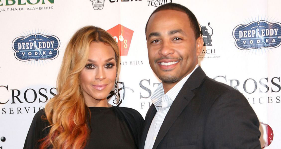 Sheree with her second husband, Terrell Fletcher