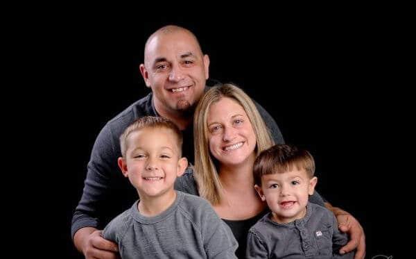 Allicia Shearer's husband and sons