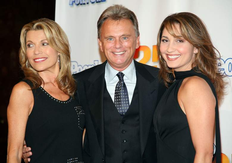 Pat Sajak and Lesly Sajak with their daughter