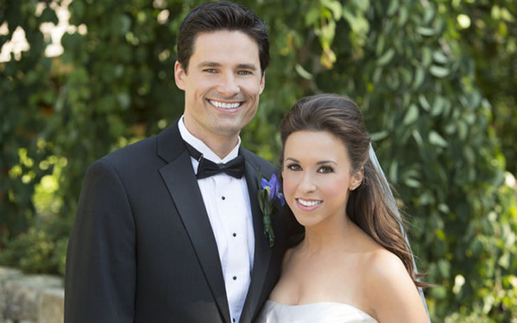 Lacey Chabert and David Nehdar