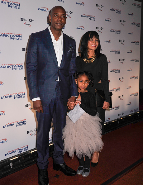 Dave Chappelle and Elaine Chappelle daughter