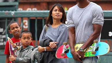 Dave Chappelle and Elaine Chappelle sons