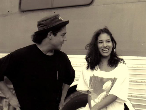 Vanessa Villanueva and Chris Perez