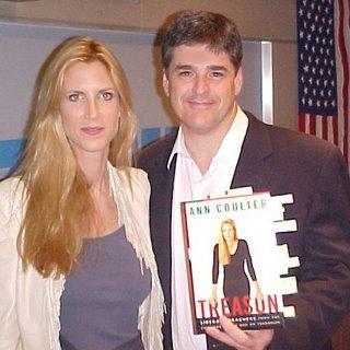 Jill and her husband Sean Hannity