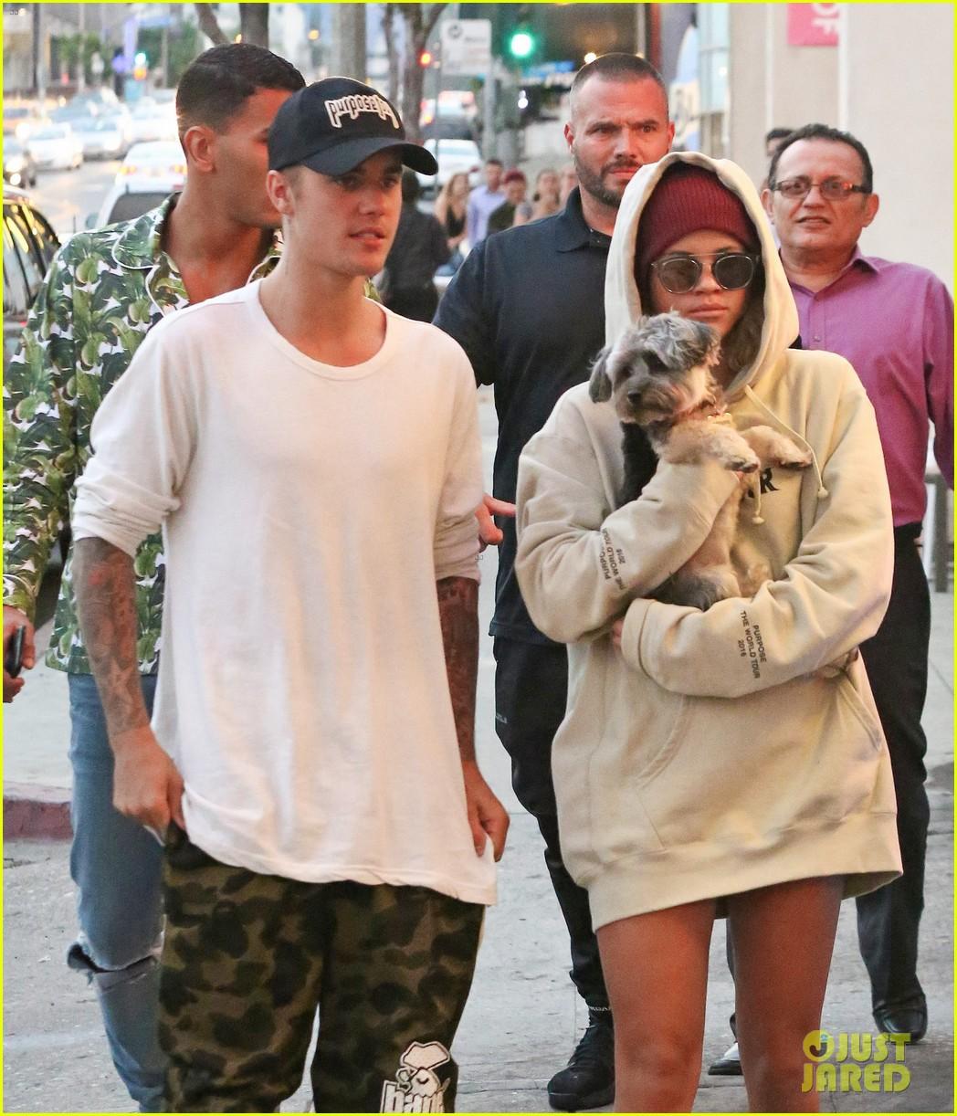 Justin's ex-girlfriend Sofia Richie