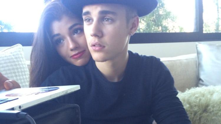 Justin Bieber with Yovanna Venture