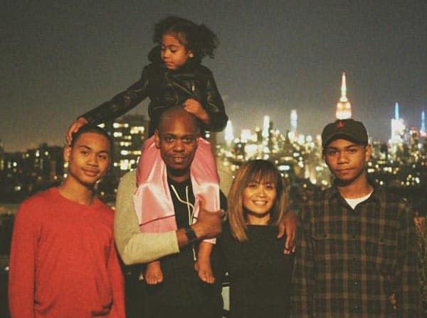 Dave Chappell wife Elaine Chappelle children Sulayman Ibrahim Sanaa family full family of Dave