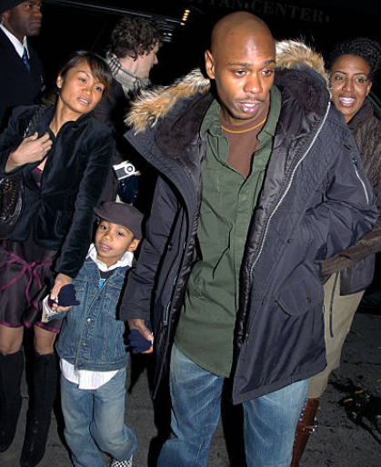 Dave Chappelle and Elaine Chappelle Son Sulayman