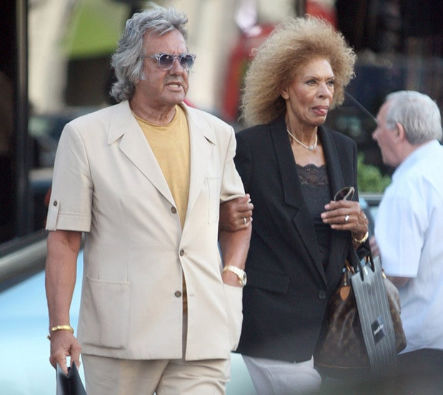 David Dickinson With Wife Lorne Dickinson