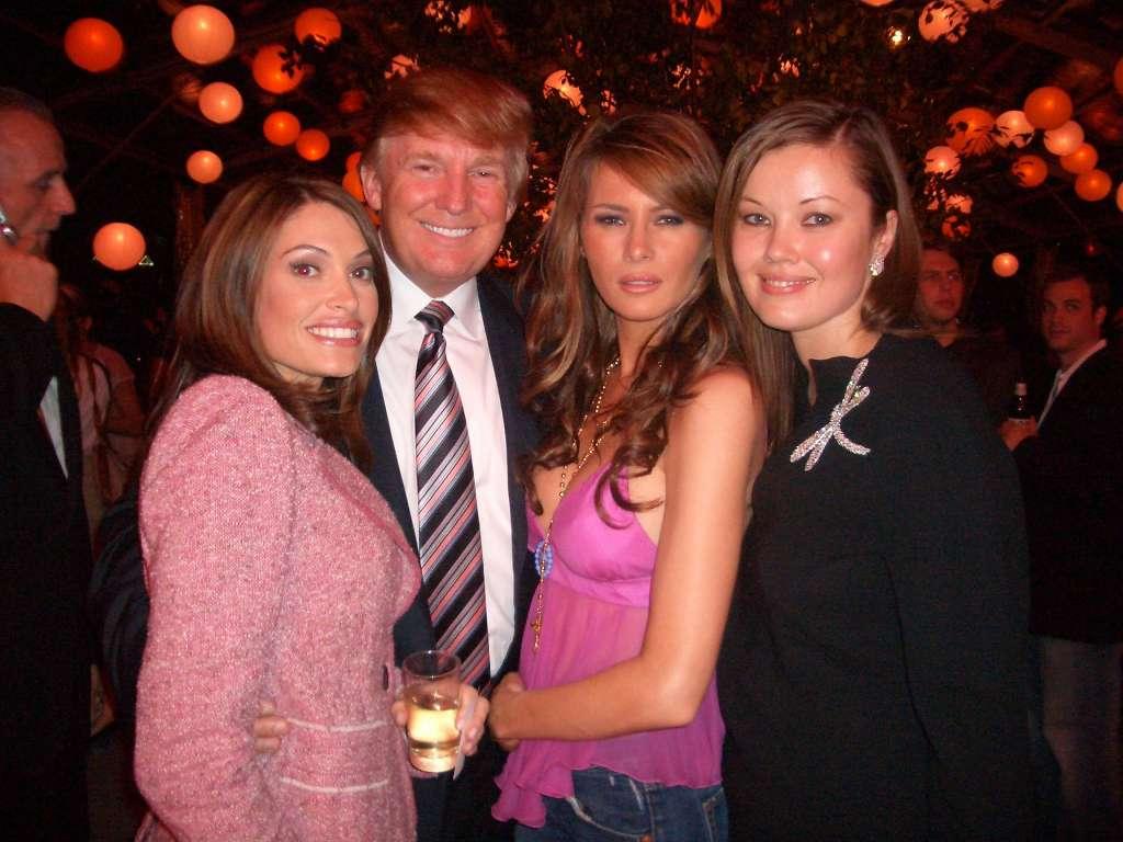 Kimberly Guilfoyle with Donald Trump
