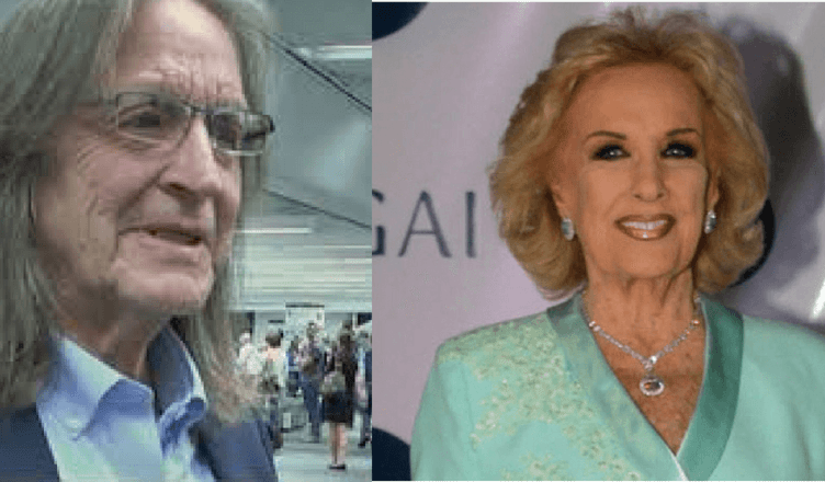 Mirtha Jung And George Jung