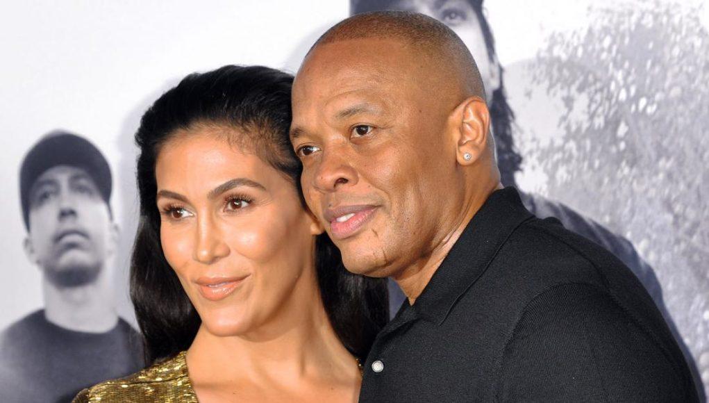 Nicole Threatt and her husband Dr. Dre