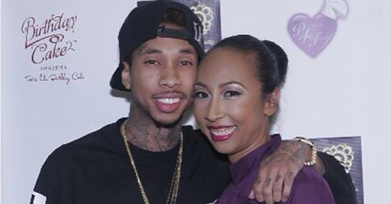 Pasionaye Nguyen with her son Tyga