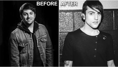 Mitch Grassi after weight loss