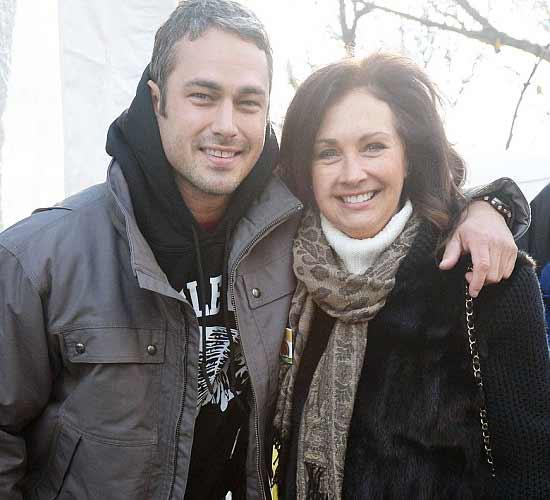 Ryan Kinney's brother Taylor Kinney and mother Pamela Heiser