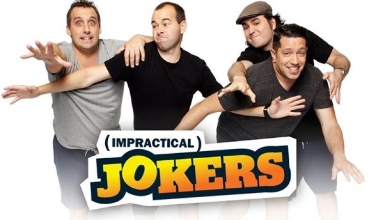 Sal Vulcano and this team in Impractical Jokers.