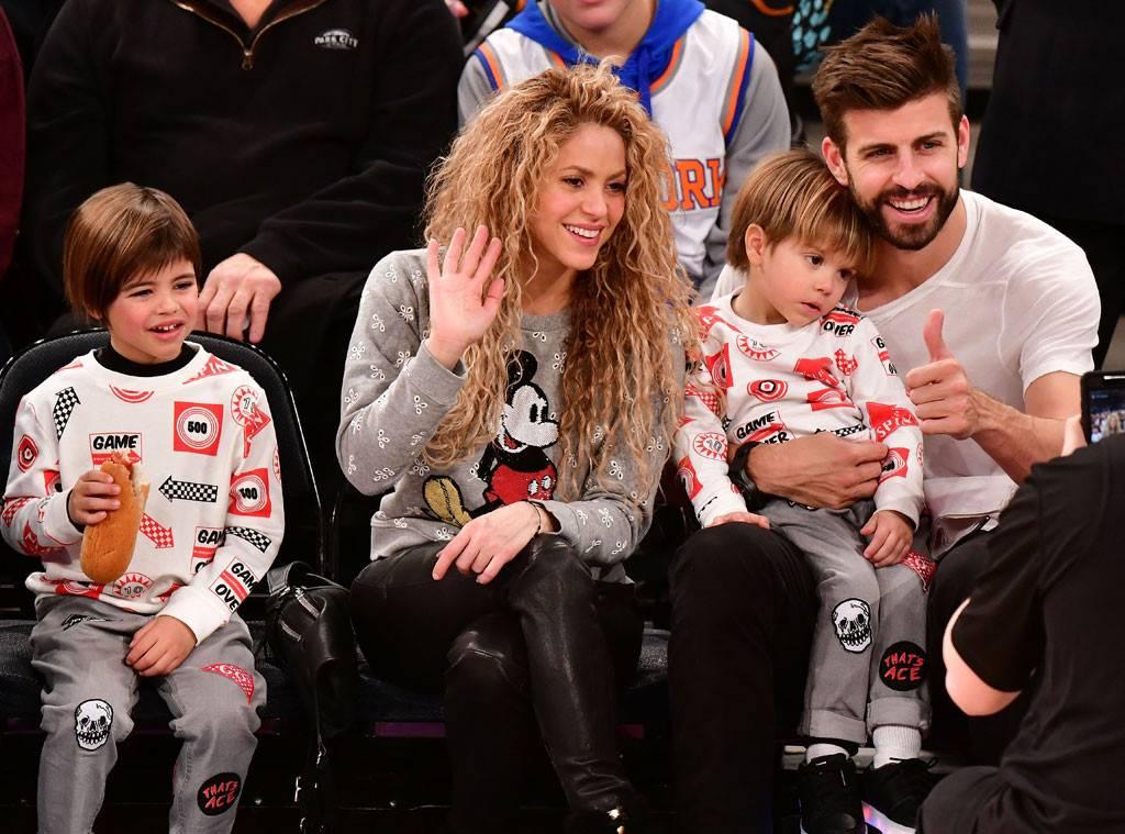 Sasha Pique Mebarak Family