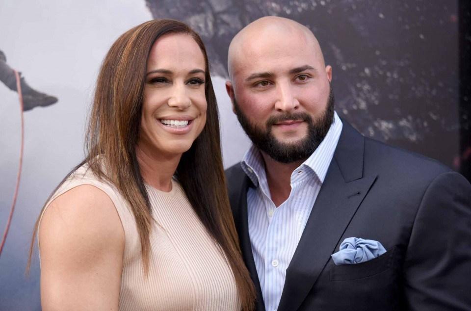 Dany Garcia with tough, Husband Dave Rienzi