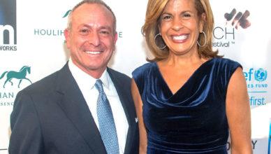 Joel Schiffman with his wife