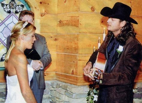 Blake Shelton And Kaynette Williams