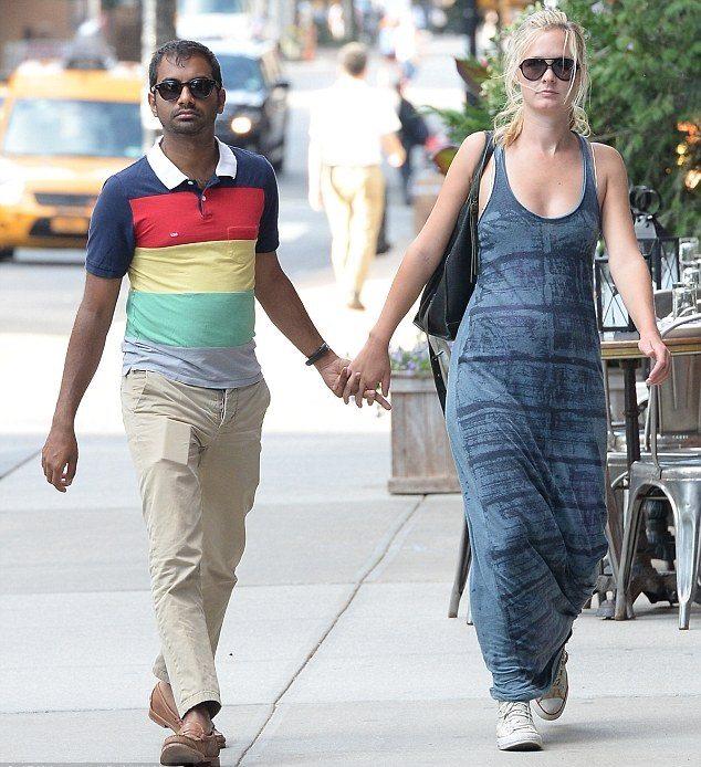 Courtney Mcbroom Relationship With Aziz Ansari