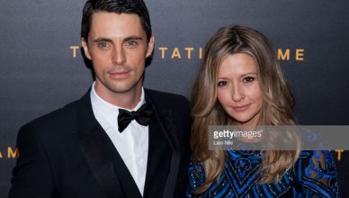 Sophie Dymoke's husband Matthew Goode