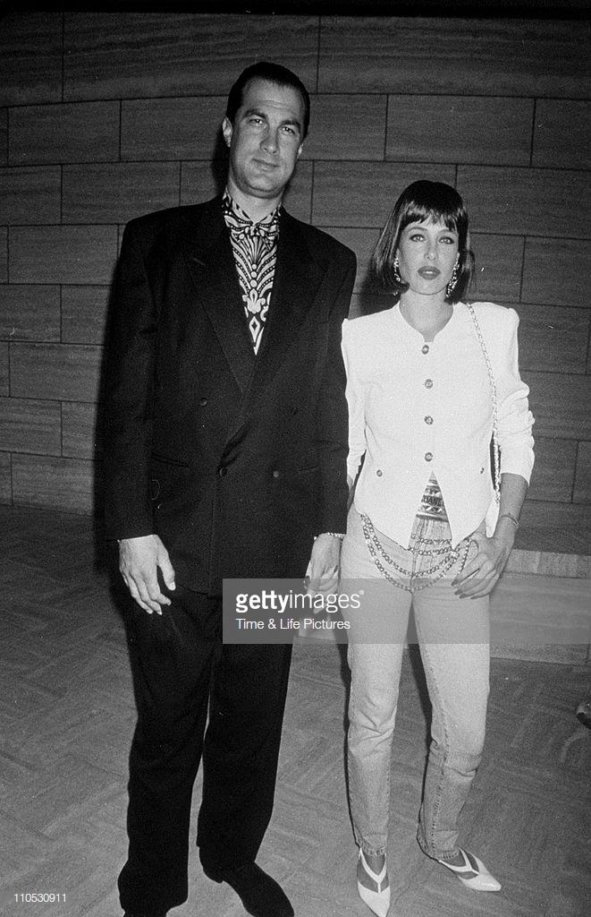 Steven Seagal and wife Miyako Fujitani