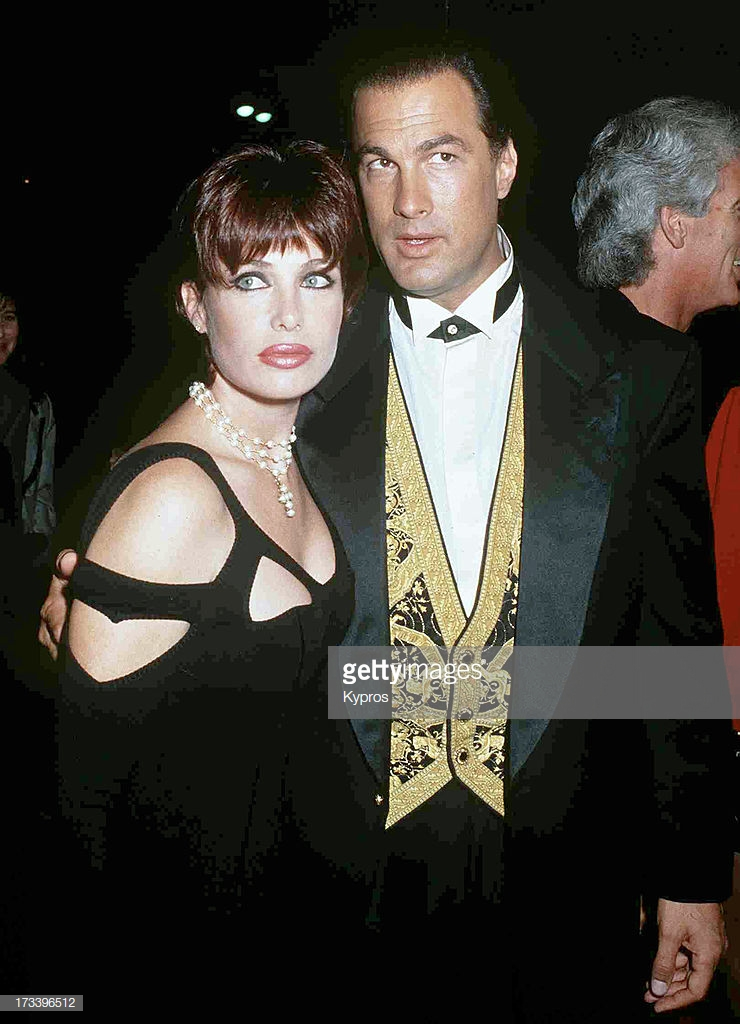 Steven Seagal and Third Wife, Kelly LeBrock