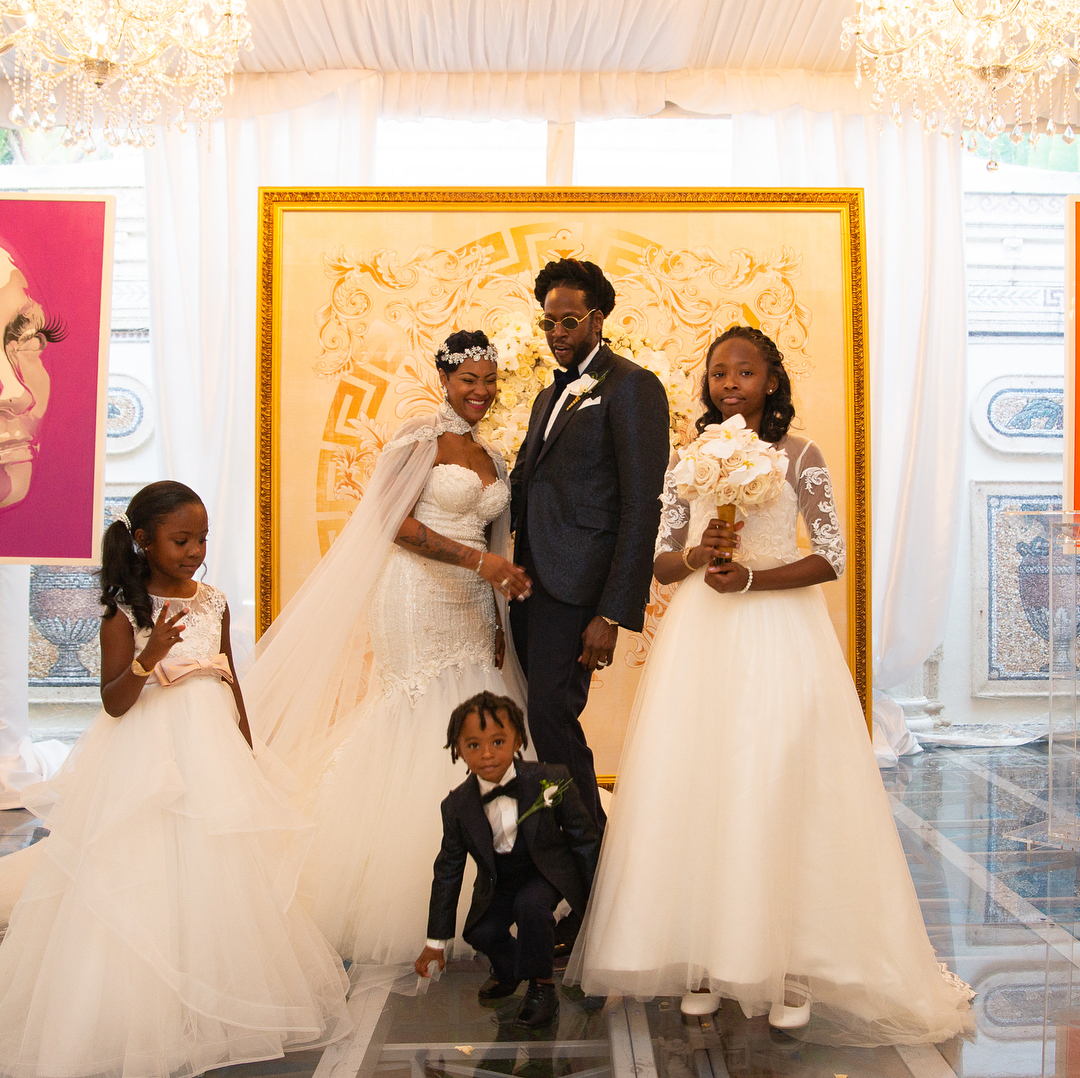 2 Chainz Weds Kesha Ward