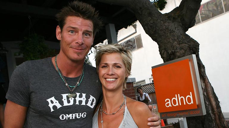 Andrea Bock and Ty Pennington
