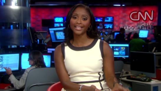 CNN reporter Isha Sesay