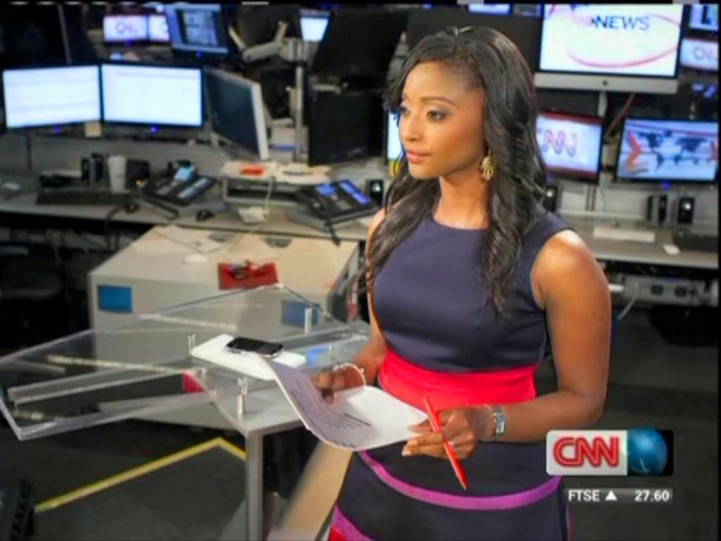 Isha Sesay at CNN