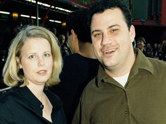 Gina Kimmel and ex-husband Jimmy Kimmel