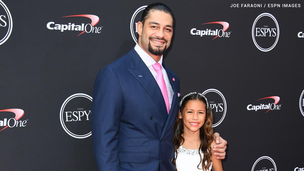 Roman Reigns's daughter. Joelle