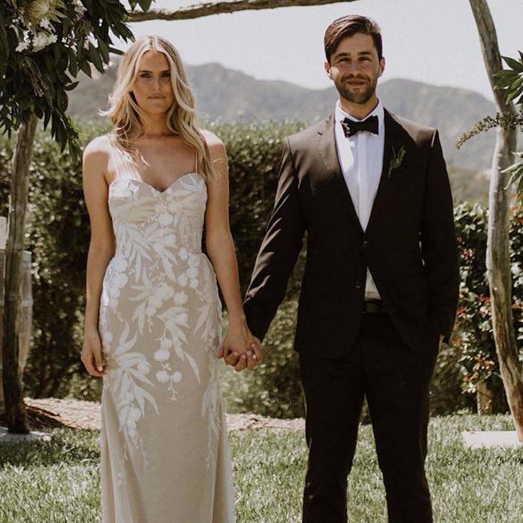 Josh Peck's wife, Paige O' Brien