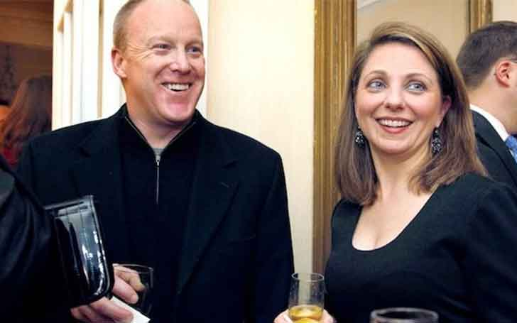 Rebecca Claire Miller and Sean Spicer