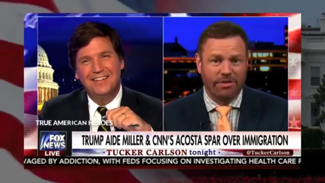 Tucker Carlson on CNN