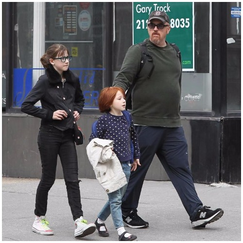 Alix Bailey's daughters and ex-husband, Louis C.K.
