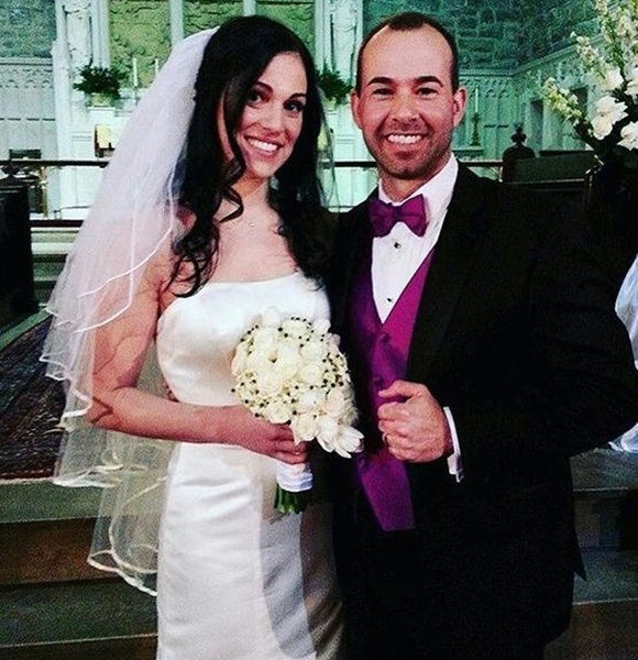 Jenna Vulcano and ex-husband, James Murray