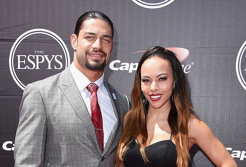 Roman Reigns's wife, Galina Becker