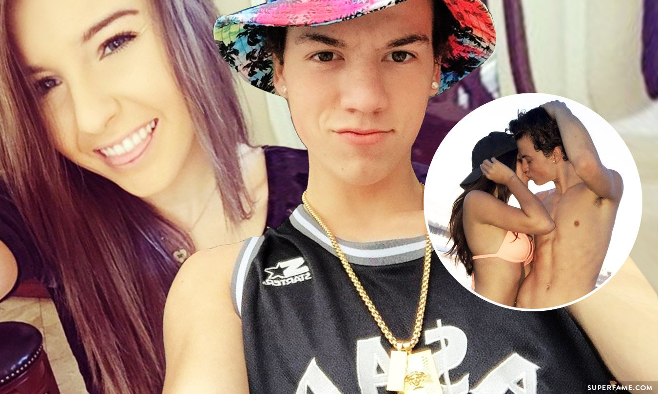 taylor caniff and taylor alesia kissing