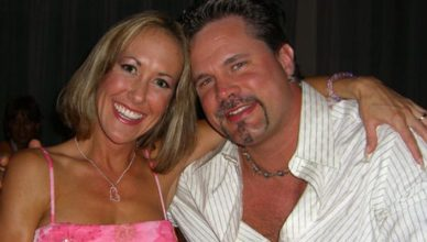 Chris Potoski with his wife Brandi Love
