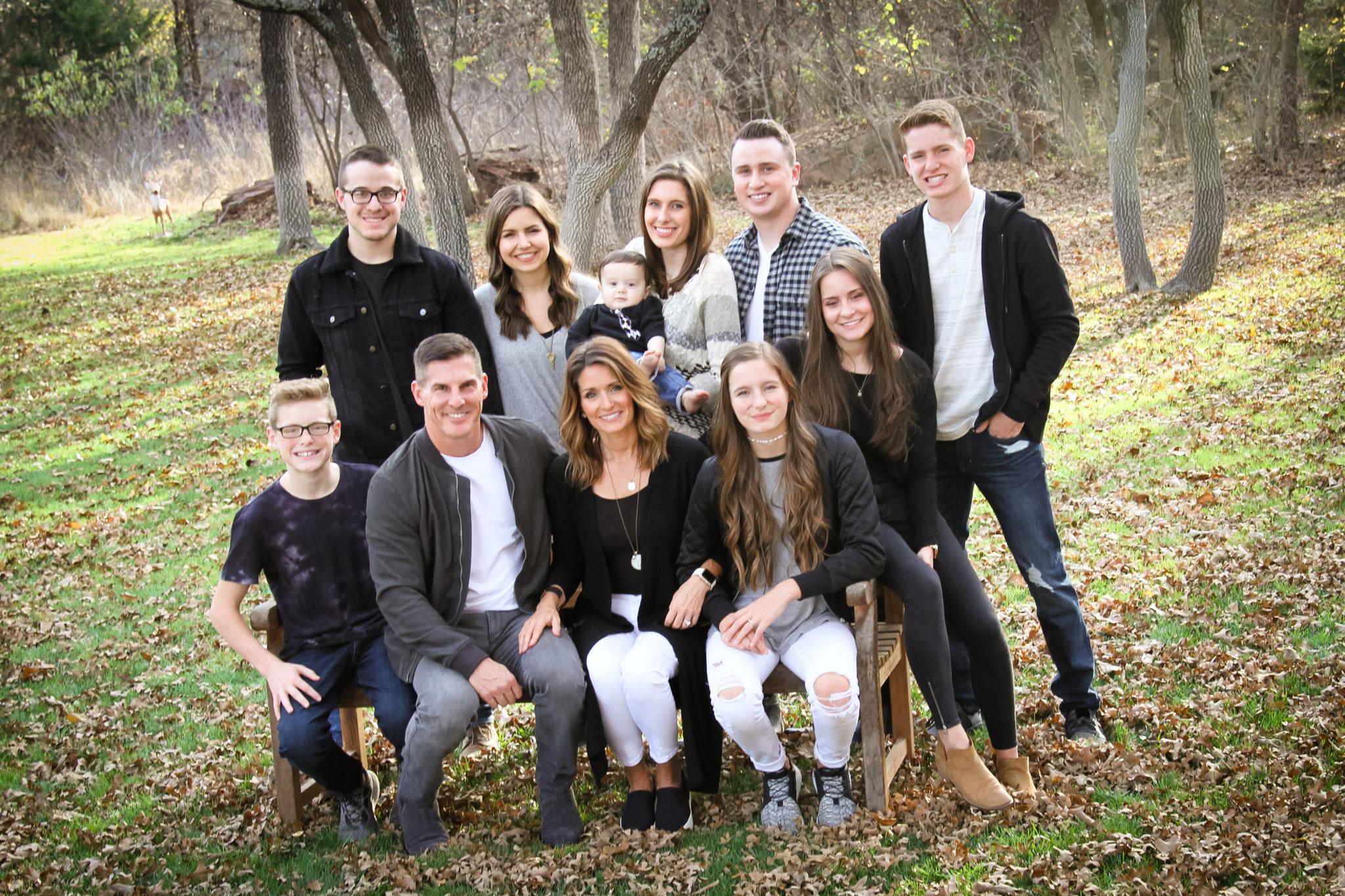 Craig Groeschel's family