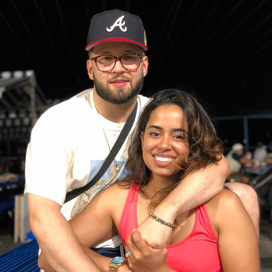 Andy Mineo and Cristina Delgado
