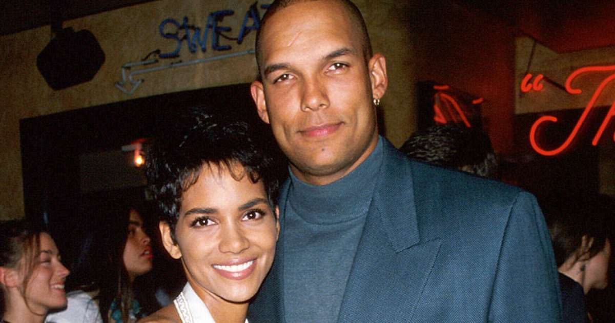Halle Berry's first husband, David Justice