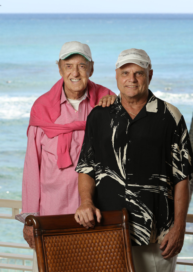 Stan Cadwallader and Jim Nabors