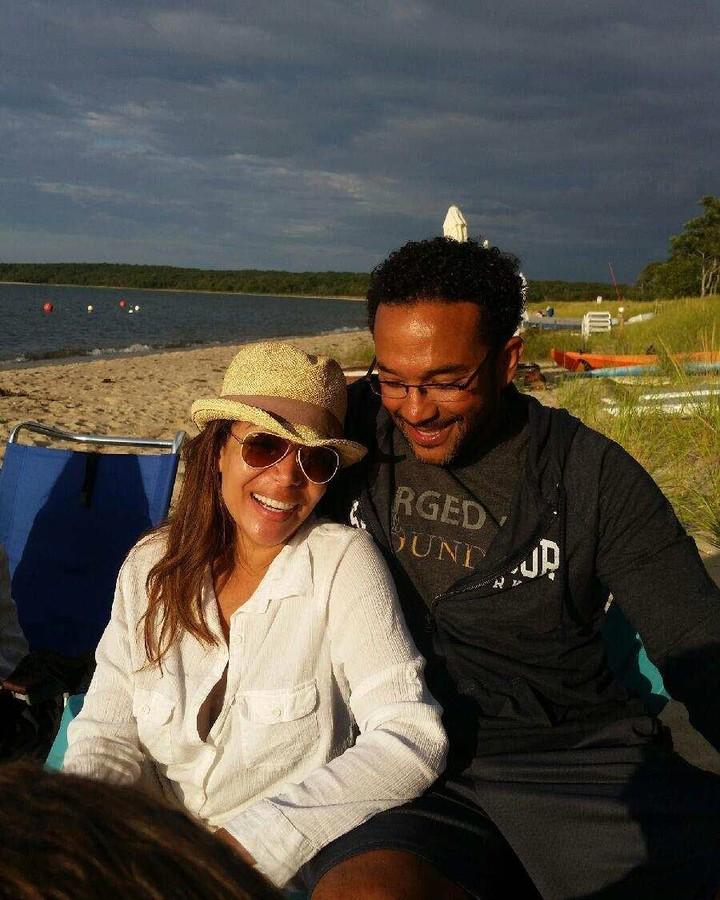 Emmanuel Hostin's wife, Sunny Hostin
