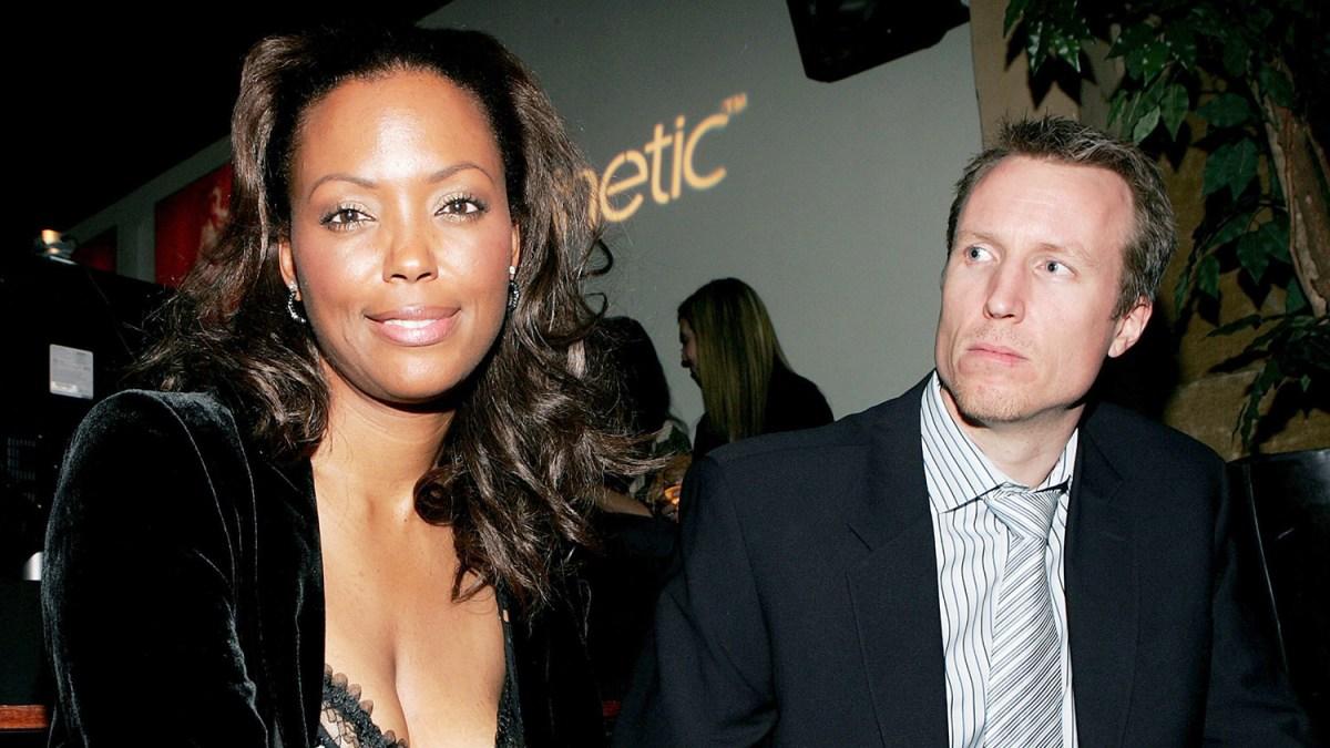 Jeff Tetjens and former wife, Aisha Tyler