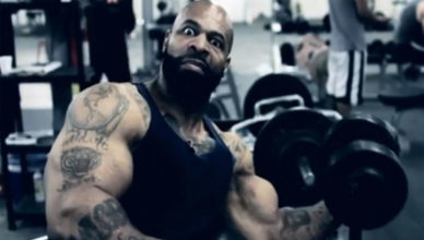 Ct Fletcher in his 30's.