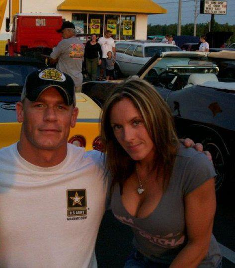 Eliza Huberdeau and John Cena
